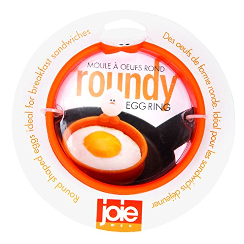 MSC International FBA_50600 50666 Joie Eggy 3.5' Non-Stick Silicone Compact Egg Ring with Folding...