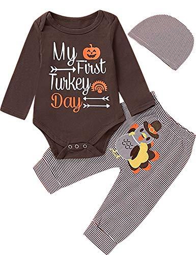 Newborn Boy Girl Thanksgiving Day Outfit Newborn...