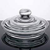 lid 2.4 gallon beverage dispenser lid glass