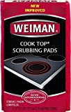 Weiman cook top scrubbing pads, 3 count by weiman