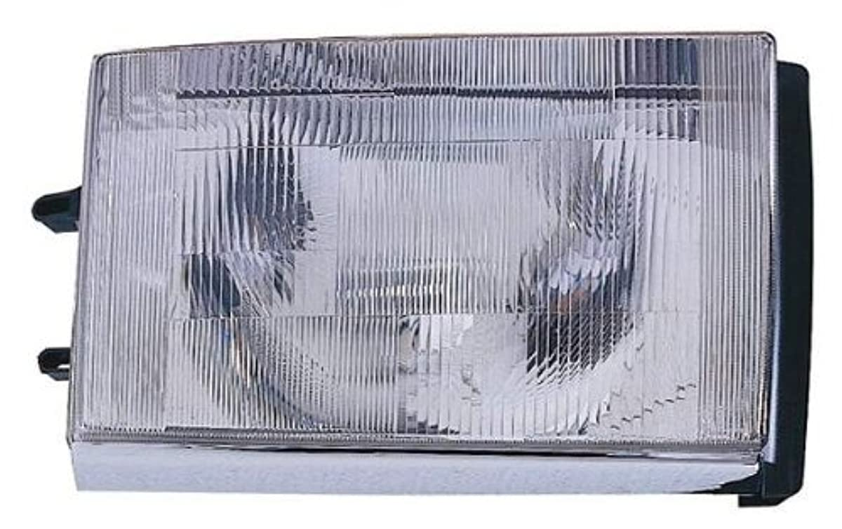 Depo 373-1103L-US Volvo 240 Driver Side Replacement Headlight Unit without Bulb