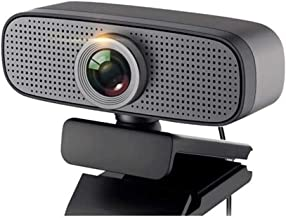 WDFDZSW Webcam with Microphone,Full HD 1080P USB Web Camera, Plug & Play Webcam with Built-in Dual Microphone, Multi-Compa...