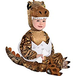 6. Party City T-Rex Hatchling Baby Costume