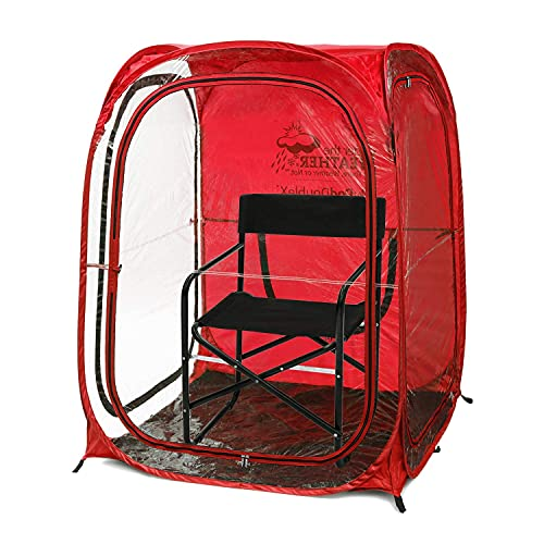 Under the Weather MyPod 2XL Pop-Up Weather Pod, Protection from Cold, Wind and Rain
