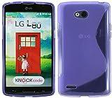 S Line TPU–Carcasa para LG L80(D373) funda de silicona en lila @ Energmix