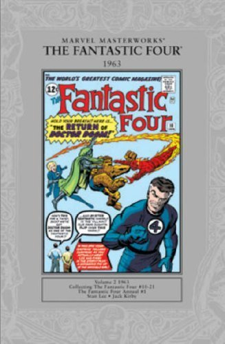 Marvel Masterworks: Fantastic Four 1963 v. 2 (Vol. 2) by Stan Lee (2007) Paperback