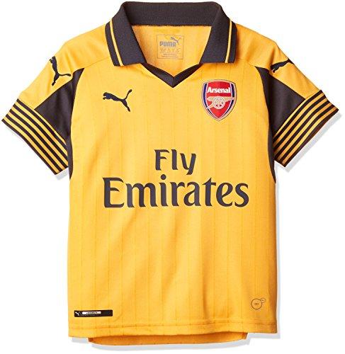 PUMA Kinder Trikot AFC Away Replica Shirt, Spectra Yellow-Ebony, 176