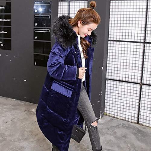 WFSDKN dames Parka 2019 Winter Damesjas Plus Size katoenen mantel gewatteerde middenlange parka's met capuchon Vrouwelijke warme sneeuw casual bovenkleding