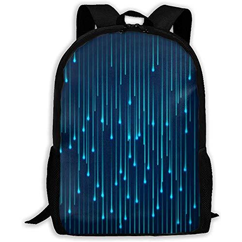 Mehrzweck-Outdoor-Tagesrucksack,Laptop-Rucksack,College School Bookbag,Leichte Schultertasche,Lässiger Wasserdichter Rucksack,Futuristische Wissenschaft