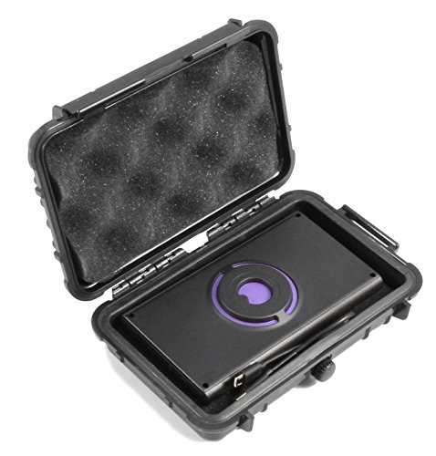 CASEMATIX Rugged Waterproof Imaging Sensor Case Compatible with Walabot DIY in Wall Imager and Cables, Includes Case Only