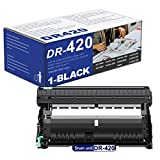 1 Pack DR-420 DR420 Black Drum Unit Replacement for Brother DCP-7060D 7065D Intellifax 2840 2940 MFC-7240 7360N 7365DN 7460DN 7860DWHL-2130 2132 2220 2230 2240 Printer(Toner is not Included).