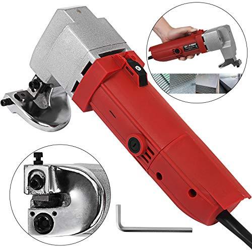 Mophorn elektrische Blechschere 500W elektrische Schere 2,5mm Elektroschere 2000 U/min Blechschere Tools für das Schneiden von Metall
