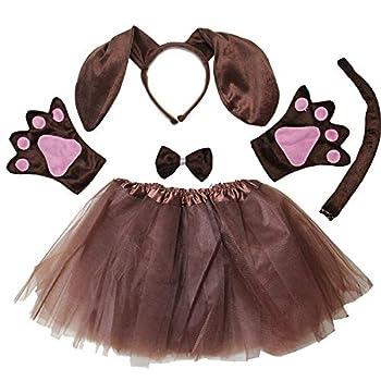 Kirei Sui Kids Girls Costume Tutu Set Dachshund