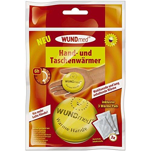 Wundmed 4-pack hand- en zakwarmer ronde doos met elk 3 pads