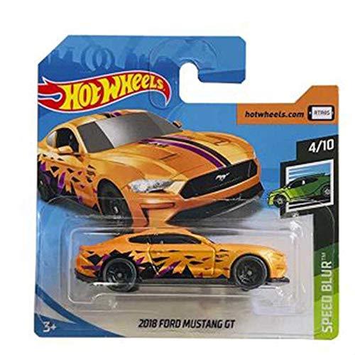 Mattel Cars Hot Wheels 2018 Ford Mustang GT Speed Blur 2113/250 2019 Short Card