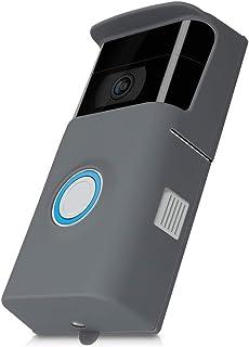 kwmobile Cover compatibile con ring Video Doorbell 2 (2. Gen) - in silicone protezione per campanello video - Rivestimento...