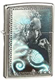 "Genuine Zippo windproof lighter with distinctive Zippo ""click"" All metal construction; windproof design works virtually anywhere Refillable for a lifetime of use; flints and wick are replaceable Made in USA; lifetime guarantee that ""it works or we fi..."