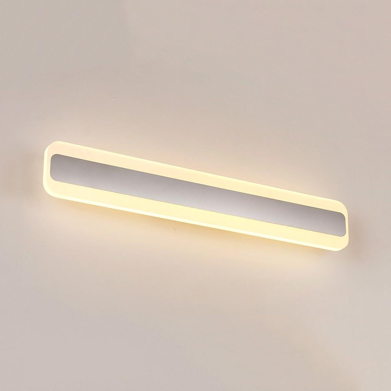 LED-Spiegel-Licht-Edelstahl-Verfassungs-Licht, wasserdichtes Schrank-Licht-Waschbecken-Licht, Badezimmer-Licht 14W Wei