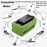 Momola Batterie au lithium pour tondeuse à gazon 40V 2500mAh,Remplacement pour GreenWorks 29472 29462 G-MAX, compatible...