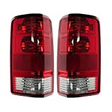 Epic Lighting OE Style Replacement Rear Brake Tail Lights Assemblies Compatible with 2007-2011 Dodge Nitro [ CH2818115 CH2819115 55157151AC 55157150AC ] Left Driver & Right Passenger Sides Pair