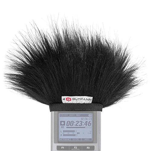 Gutmann Microphone Fur Windscreen Windshield for Olympus DM-901 | Made in Germany