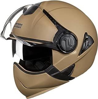 Studds Full Face Helmet Downtown (Desert Storm, XL)