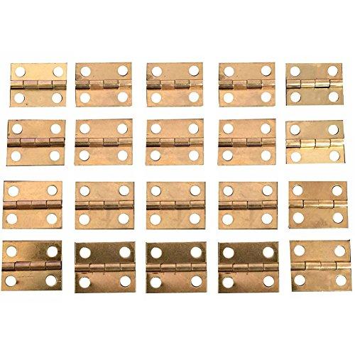 3mm//1//8 de largo 25 clavos de latón Casa de Muñecas