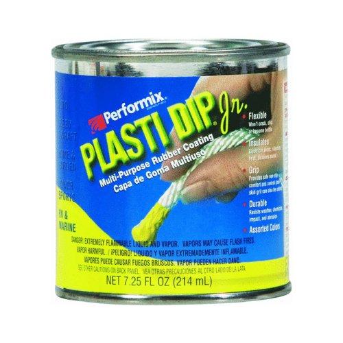 Plastic Dip INTL. Dip in gomma colore Plasti, 214 ml, Junior-lattina, rosso