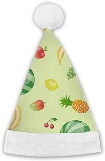 Christmas Hat Watermelon Grape Lemon Banana Apple Unique Santa Hat Party