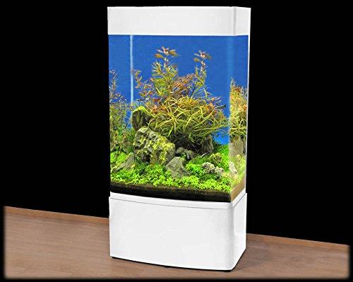 GHH-80 Säulen-Aquarium T5 / weiß