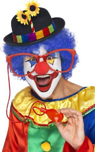 Generique - 351481 - Lunettes Géantes Arroseuses Clown Adulte - Taille Unique