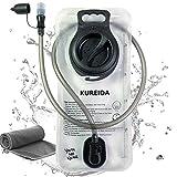 KUREIDA Hydration Bladder 2 Liter Leak Proof Water Reservoir,BPA Free,Wide...