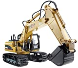 Huina Alloy 15 Channel 2.4G Full-Function Remote Control RC Excavator Full Function Crawler