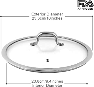 Duxtop Cookware Glass Replacement Lid (10 Inches)