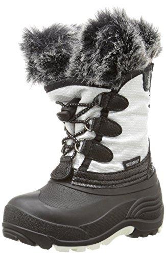 Kamik Powdery Kids Winter Boot (Toddler), White, 10 M US Toddler