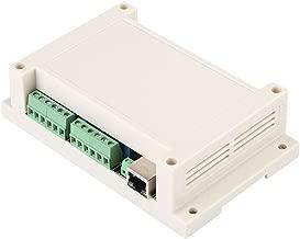Mucjun Tarjeta De Control Remoto De Puerto Ethernet Tcp/Ip Rj45 8 Canales Con Rele Integrado (Blanco