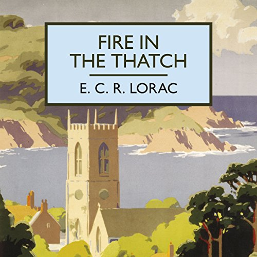 Fire in the Thatch audiobook cover art