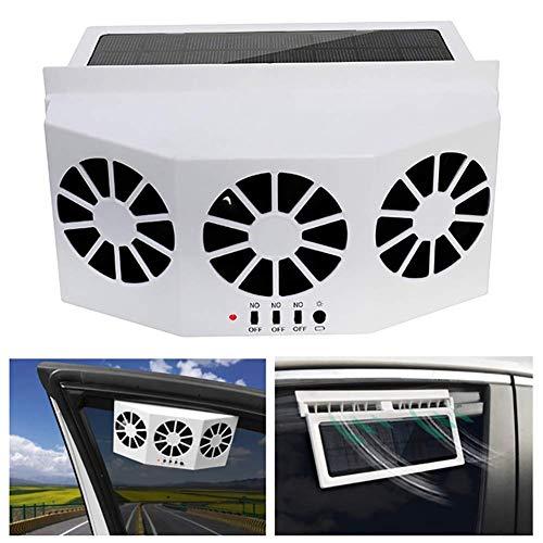 JINGBO Autoventilator op zonne-energie voor het verwijderen van giftige gassen en koeling/deodoratie in de auto, luchtconvectie, zonne-oplading