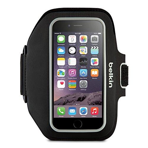 Belkin Sport-Fit Plus Sport-Armband (geeignet für iPhone 6 Plus/6s Plus) schwarz