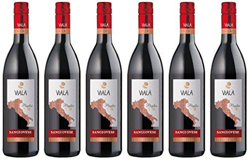 Viala IGP Puglia Sangiovese Rouge (6 x 0.75 l)