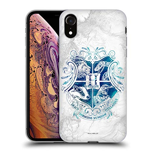 Official Harry Potter Ravenclaw Deathly Hallows XIV Black Soft Gel Case Compatible for Apple iPhone 7 Plus//iPhone 8 Plus