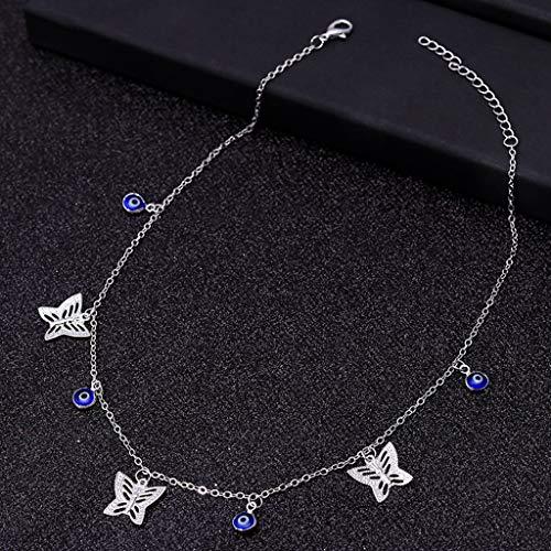 X Choker Schmetterling Sterne Kette Halsketten für Frauen Gold Silber Farbe Schlüsselbein Kette Halsketten Schmuck Collier 4g