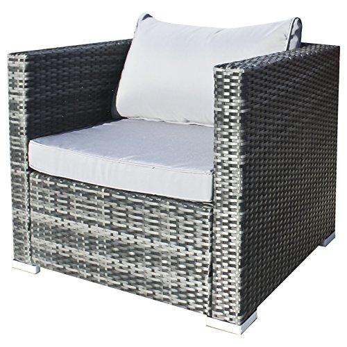 Hansson Polyrattan Gartenmöbel Lounge Set Sitzgruppe Bild 2*
