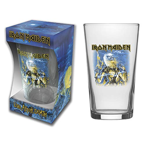 Iron Maiden Live After Death - Vaso de cerveza