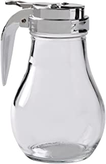 Thunder Group GLTWSY014 Syrup Dispenser with Cast Zinc Top, 14-Ounce