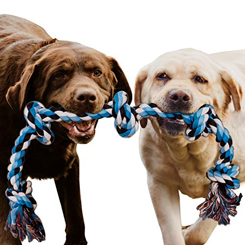 Dog Rope Toy for Aggressive Chewers - Medium to Large Breed Dogs