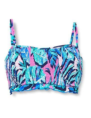 Pour Moi? Damen Free Spirit Strapless Underwired Top Bikini, Lagoon, 36D