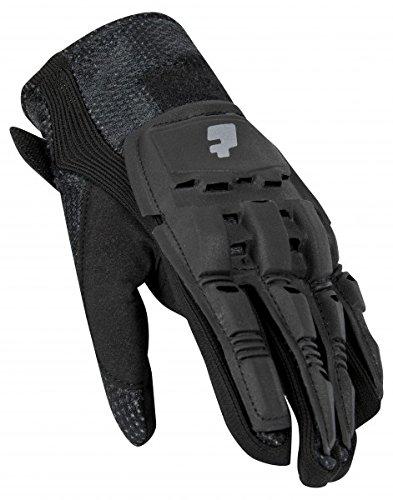 Paintball Handschuhe pt-field Vollfinger schwarz, Paar, Größe:L