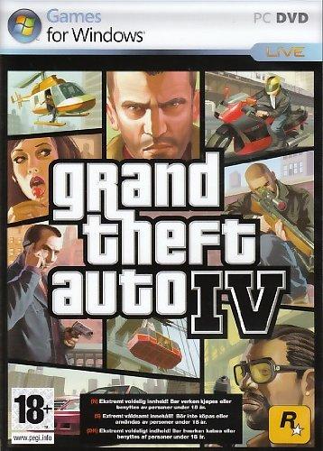 Grand Theft Auto 4 (PC DVD) [Importación Inglesa]