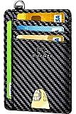 FurArt Portefeuille Minimaliste Fin, Porte-Cartes de Crédit avec Blocage Anti RFID, Les F...